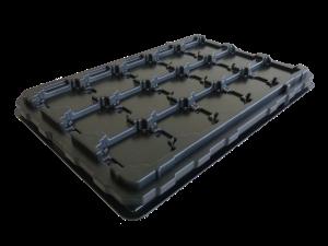 tray aus kunststoff